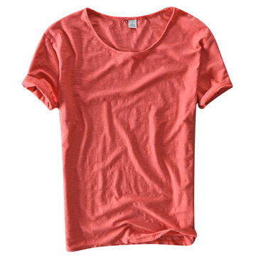 Summer Breathable Basic Casual T Shirt
