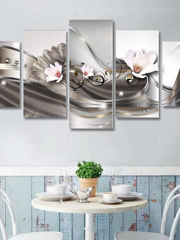 5Pcs Canvas Print Modern Picture Wall Art