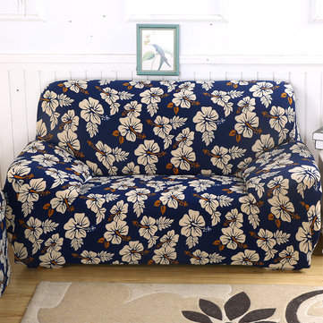 Blue Bloom 1/2/3/4 Seater Home Soft Elastic Sofa Cover