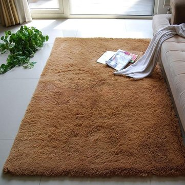 Bedroom Living Room Soft Shaggy Anti Slip Carpet