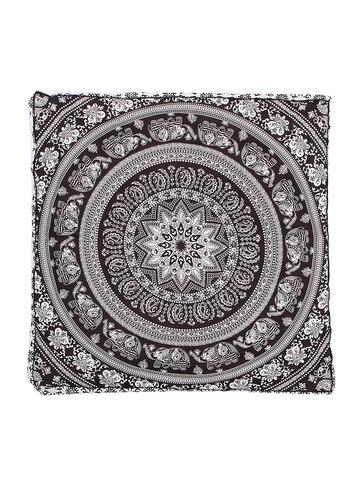 Mandala Indian Bohemian Elephant Square Cushion Case Floor Pillow Seating Cover