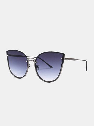 Unisex Cat-eye Frame Anti-UV Sunglasses