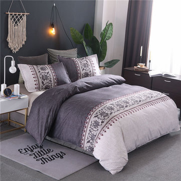 Luxury Soft Polyester Fiber Duvet Cover