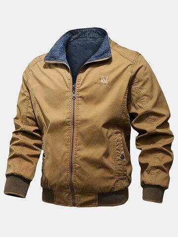 Cotton Denim Double-Faced Jackets