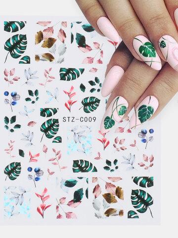 Bouts d'ongles de papillon de fleurs séchées 3D