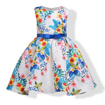 Printed Flower Girl Dresses