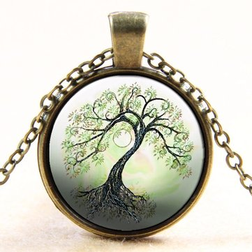 Collares Vintage Tree of Life