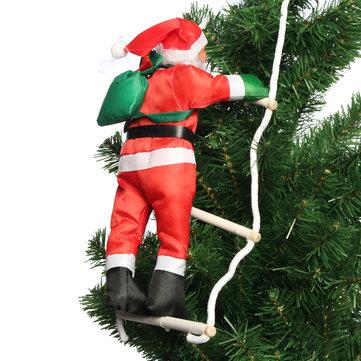 Climbing Santa With Rope Ladder