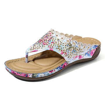 Clip Toe Beach Slippers