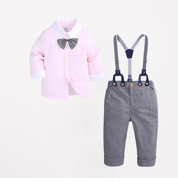 3Pcs Boys Formal Sets For 1Y-5Y