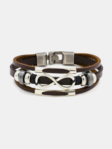 Multilayer Infinity Knot Bracelet