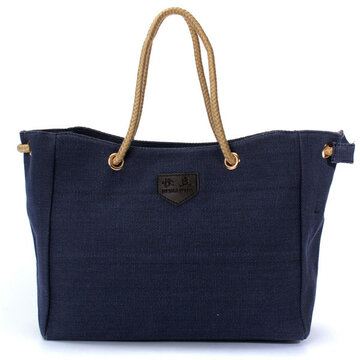 Women Casual Canvas Shopping Bag Tote Messenger Handbag