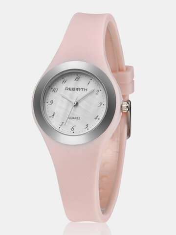 Trendy Jelly Silicone Femmes Watch