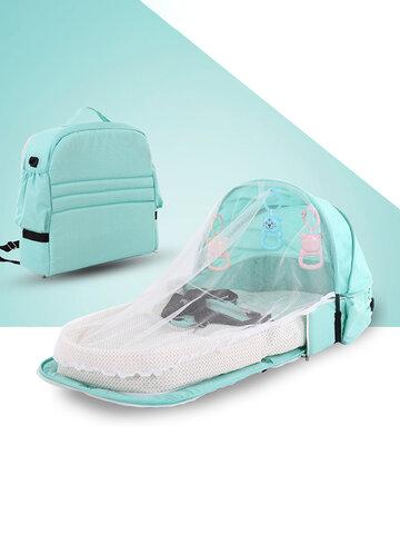 Москитная сетка для детской кроватки Портативная детская кровать Многофункциональная дорожная изоляционная кровать с защитой от комаров Детская складная кровать Съемная кровать Средняя кровать