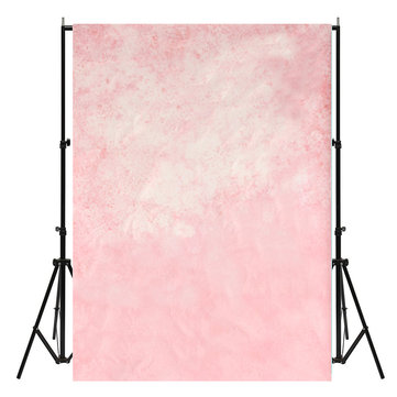 7x5ft Pink Photography Background