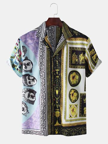 Mens Designer Baroque Shirts