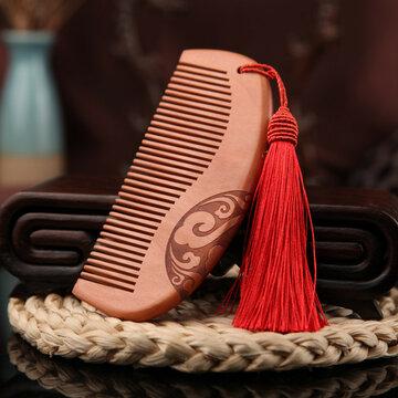Mahogany Wooden Comb