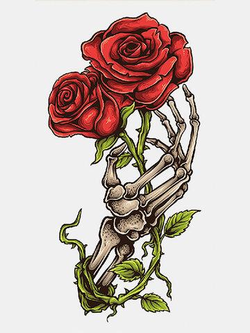 40 шт. Символы тотемы татуировки на всю руку