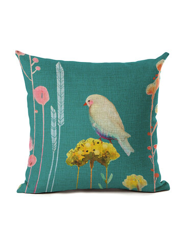 Pillowcase Cushion Cover Linen Throw Pillow Car Home Decor