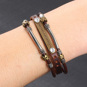 Vintage Leather Multilayer Bracelets