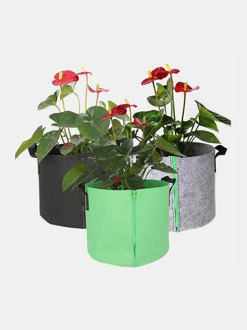 Plantas em crescimento Bolsa Vaso de flores de vegetais