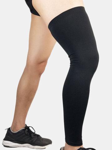 Men's Sports Knee Pads Warm Compression Leggings