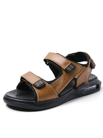 Men Air Cushioned Leather andals
