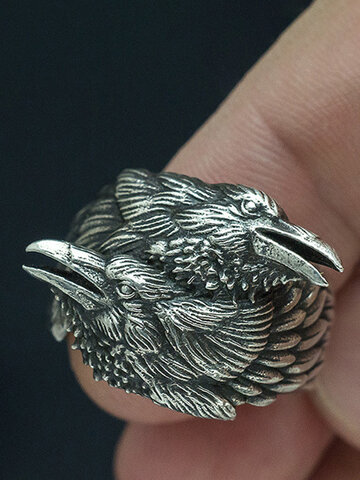 Two Crow Unisex Ring