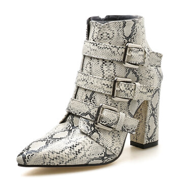 Leopard-print Ankle Boots фото
