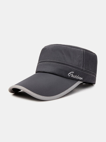 Men's Breathable Mesh Flat Cap