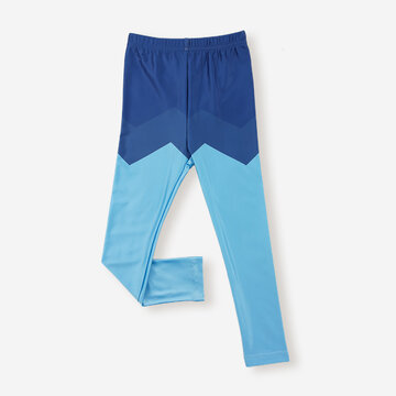 Boy's Color Patchwork Pants For 2-8Y
