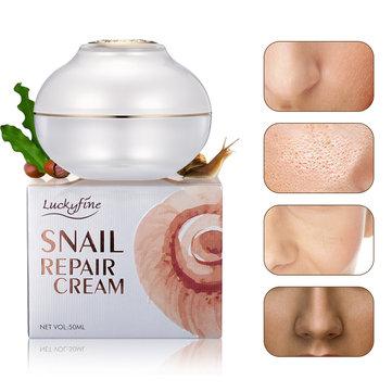 Creme Facial para Reparação de Caracol de 50 ml