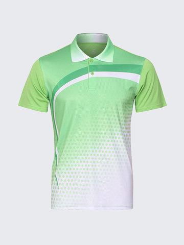 Allenamento di badminton ad asciugatura rapida Golf Camicia