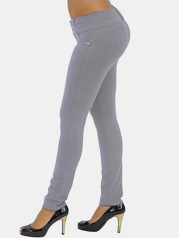 Solid Color Famous Tiktok Leggings