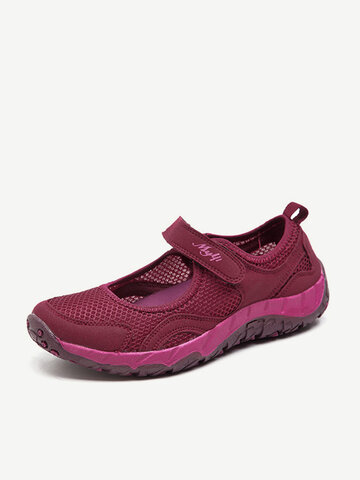 Mesh Hook Loop Comfortable Shoes