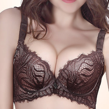 Gather Adjustable Push Up Print Soft Bras