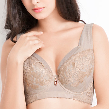 Sexy Luxury Embroidery Ultrathin Bras