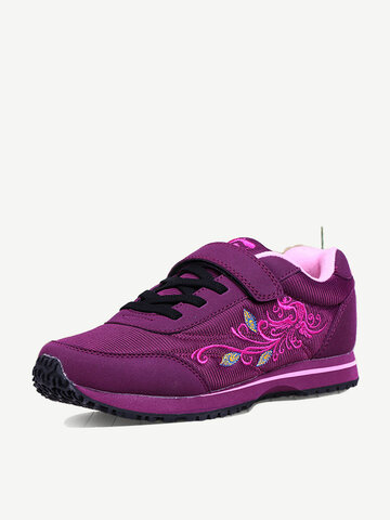 Mesh Embroidery Gancio Loop Sport Shoes