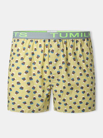 Funny Printed Cotton Lounge Underpants