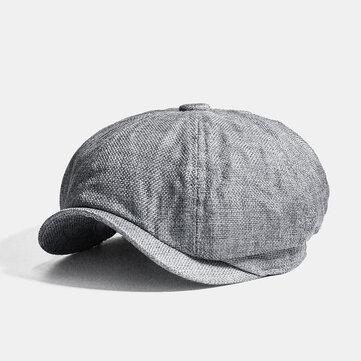 Casquette gavroche octogonale d'été Cabbie Lvy Flat Hat