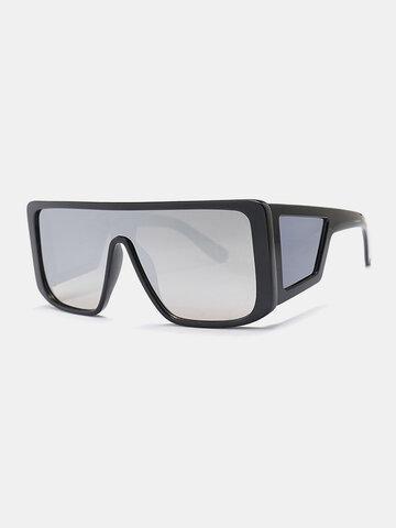 Men Full-Frame One-piece Lens Sunglasses