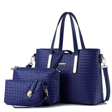 महिला 3 पीसीएस विंटेज बैग