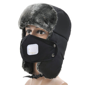 Hombres Mujer al aire libre Snow Earmuffs Lei Feng Cap