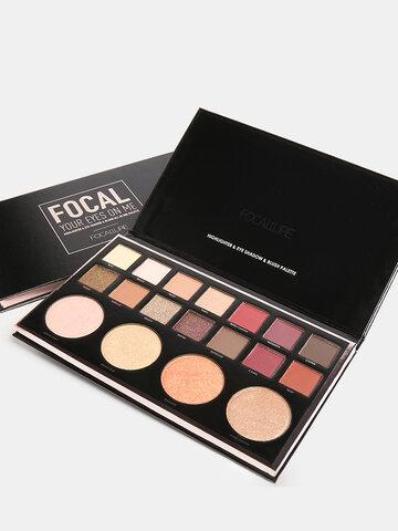 18 Color Matte Eyeshadow Palette