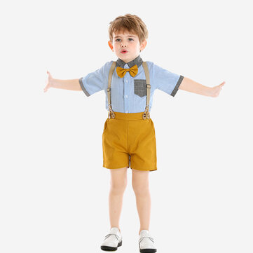 2Pcs Boys Formal Sets For 1-8Y