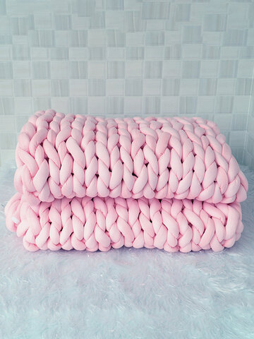 120*150cm Core Cotton Knitted Blanket