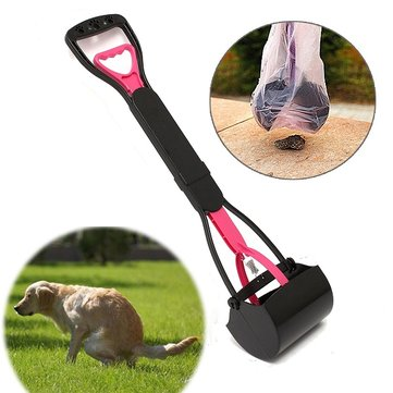 Pet Dog Waste Easy Pickup Pooper Scooper Walking Poo Scoop Grabber Picker