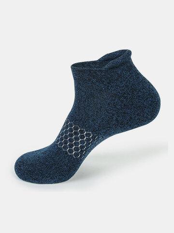 Chaussettes de sport extensibles respirantes pour hommes