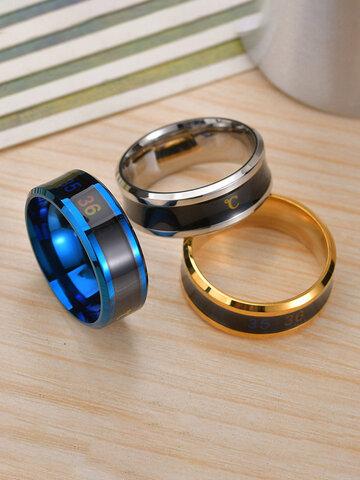 Smart Temperature Couple Ring