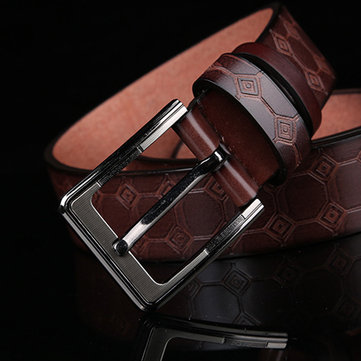Homens Causal Pin Buckle Waistband